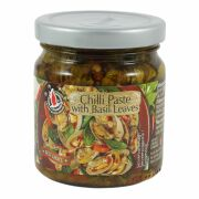 Flying Goose Chilli Paste with Basil Leaves 180g