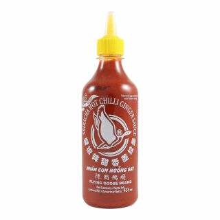 Flying Goose Sriracha Chilisauce mit Ingwer 455ml
