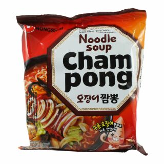 Nong Shim Champong Nudelsuppe 124g