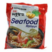 Nong Shim Seafood Ramyun  Instant Noodle Soup 125g
