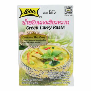 Lobo Grüne Curry Paste 50g