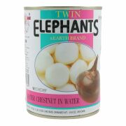 Twin Elephants Wasserkastanien in Wasser 250g