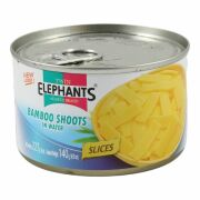 Twin Elephants Bamboo shoots in Slices 227g