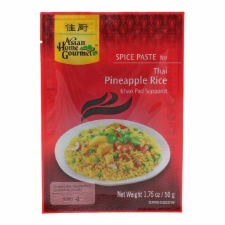 Khao Pad Supparot Würzpaste Reis mit Ananas Asian Home Gourmet 50g