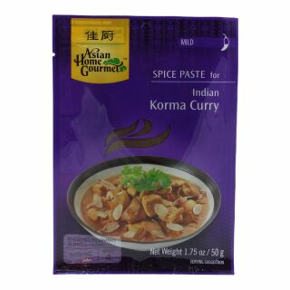 Asian Home Gourmet Korma Curry Paste 50g