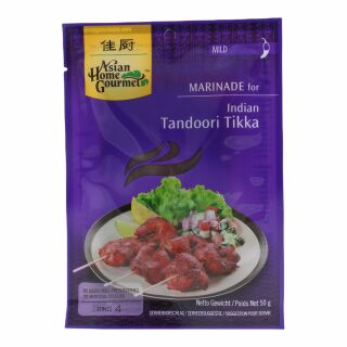 Asian Home Gourmet Tandoori Tikka Curry Paste 50g