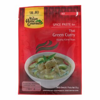 Asian Home Gourmet Grüne Curry Paste 50g