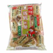Bin-Bin Rice Cracker with Seaweed 150g