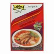 Lobo 2 in 1 Rote Curry Paste mit Kokoscreme 100g