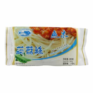 Konjac Shirataki Noodles, for Sukiyaki, Silk, Fish Well 380g