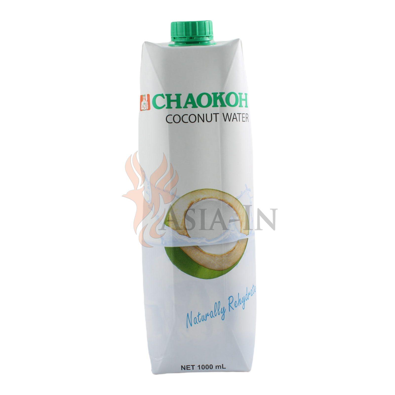 kokosnuss wasser coconut water chaokoh 1l. Black Bedroom Furniture Sets. Home Design Ideas