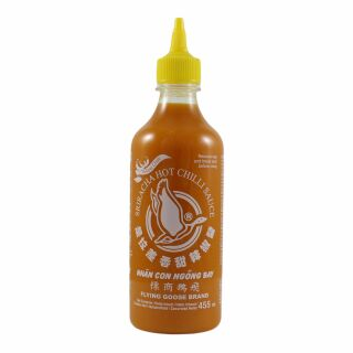 Sriracha Chili Sauce, Gelber Chili, Flying Goose 455ml