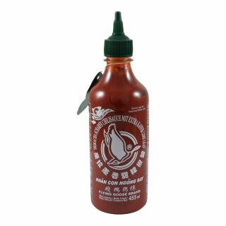 Flying Goose Sriracha  Chilli Sauce With Kaffir Lime Leaves 455ml