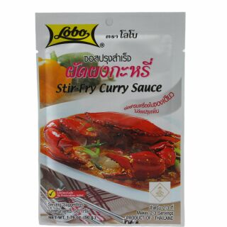 Lobo Curry Woksauce 50g