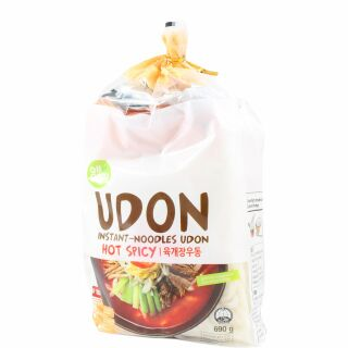 Udon Nudeln Hot & Spicy, allgroo 600g