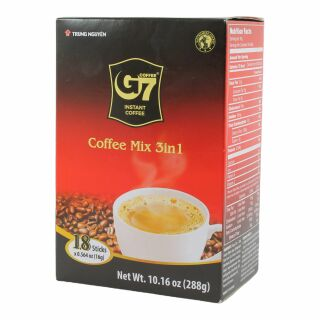 Instant Kaffe Mix 3 in 1, G7 320g