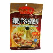 Baiweizhai Hot Pot Lamm Würzsauce, Hot & Spicy 200g