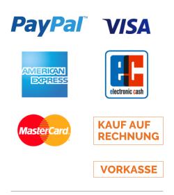 Betaling & Verzending